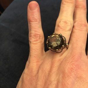 Jewelry - 14kt Smoky Quartz Cocktail Ring